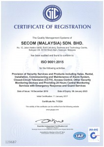 6. Certificate of Registration (GIC) ISO 9001 2015-1