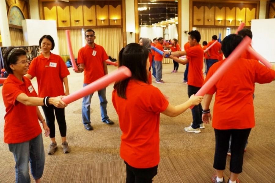 Innovative Team Building 2015
