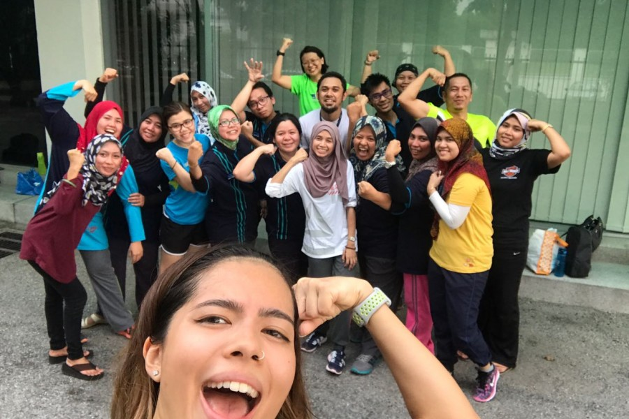 Zumba Session 2017 #Get Fit #Have Fun