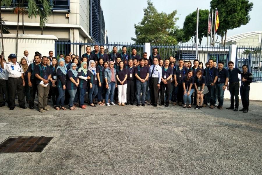 27th Anniversary & Long Service Presentation